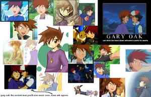 GARY OAK COLLAGE YAY by AyumaKasaga