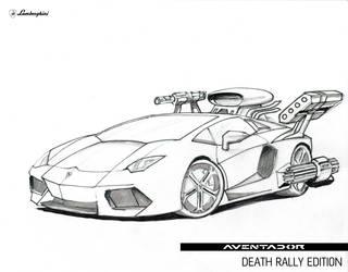 Lamborghini Aventador Death Rally Edition by morningstar3878