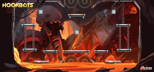 Hookbots: Volcanic Crater Backgorund by ZeroCartin