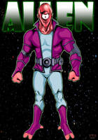Allen The Alien by KennyGordon