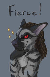 Much fierce, such grrrrrrr by Felix-Vulpes