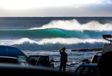 Big Wave Surfing by DonDev