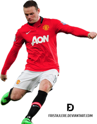 Wayne Rooney Render 2014 by Fristajlere