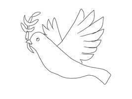 Sketch A Bird by JackalFuzz