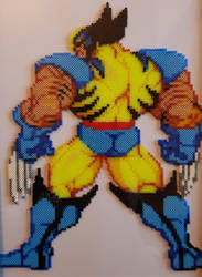Wolverine bead sprite by Artheas2D