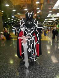 Anime Central 2015: Black Knight Cosplay by MurasakiKoneko