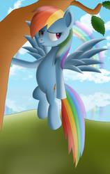 Rainbow Dash by Cryzeu