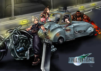 FFVII - Eyes on FF - FF Moments Project Thingy by Cloudy-0w0