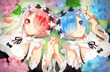 Ram+Rem by h-yde
