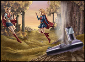 Supergirls Meeting by kclcmdr