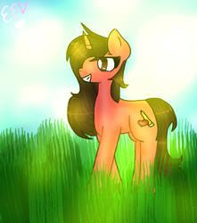 Me as a Pony by EmikoEV