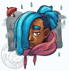 [Artfight] Rainn - bugpaws by Pepperly