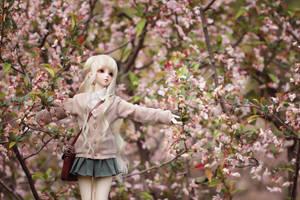 hug the Spring by Angell-studio