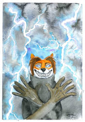 Thunder Bolts and Lightning VERY VERY FRIGHTENING! by WickusE