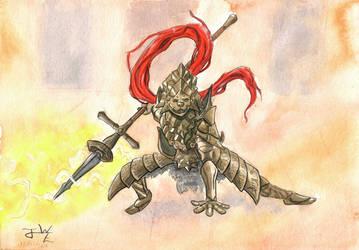 Dragonslayer Ornstein by WickusE