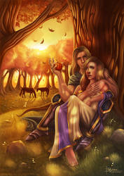 Arthas and Jaina - Memories by PetraImboden