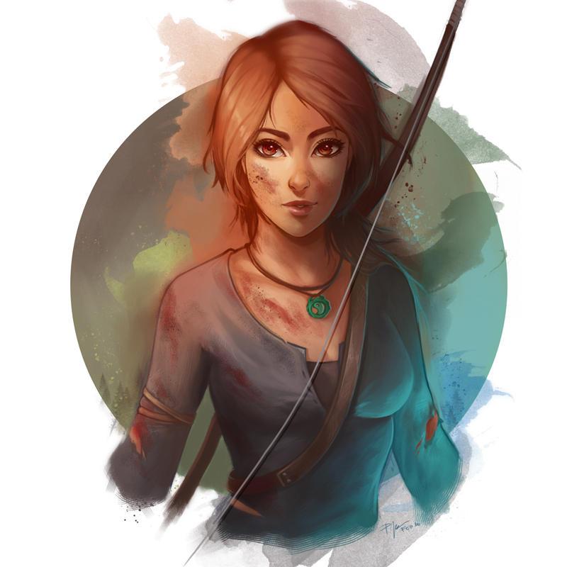 Art Lara Croft Shadow Of The Tomb Raider Desktop Wallpapers: Lara Croft By PetraImboden On