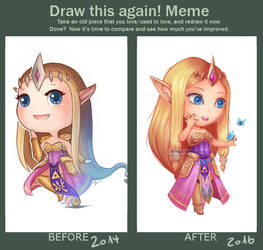 Draw this Again Zelda by PetraImboden