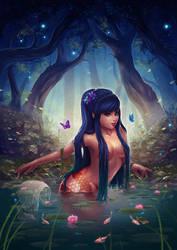 Koi Mermaid by PetraImboden