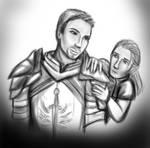 Cullen and Alim sketch by Aztarieth