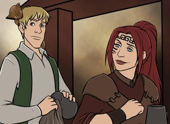 Taia, Myron and Garrett by Aztarieth