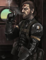 Metal Gear Solid V The Phantom Pain by RobinTran