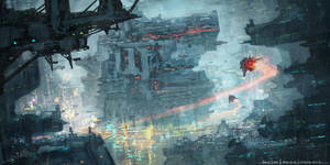 SciFi City by RobinTran