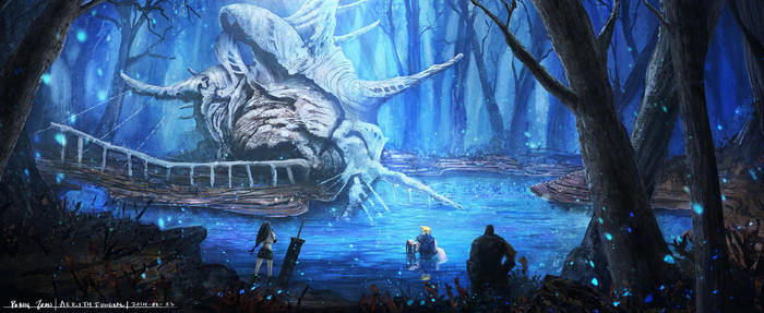 Final Fantasy VII - Aerith's Funeral by RobinTran
