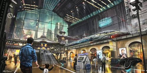 Future Japan 2030 Concept by RobinTran