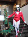 Zatanna Christmas Magic at Old Kinderhook 7 by doctorderanged