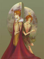 Prince and the Pauper by StarMasayume
