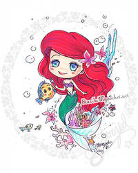 Little Mermaid by StarMasayume