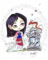 Mulan by StarMasayume
