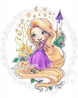 Rapunzel by StarMasayume