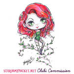 Commission Poison Ivy Chibi by StarMasayume