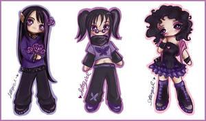 Chibi Sprites - Set 1 by StarMasayume
