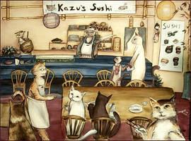 Kazu's Sushi by StarMasayume