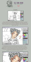 Coloring Tutorial by StarMasayume