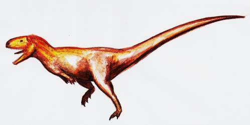 Abelisaurus by theropod1