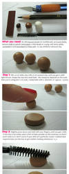 Miniature clay Cookies by thinkpastel