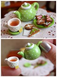 Tea Time by thinkpastel