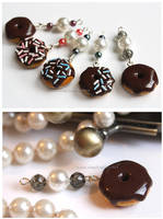 Glammin' Donuts - Charms by thinkpastel