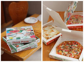 Think Pizza - Boxes by thinkpastel