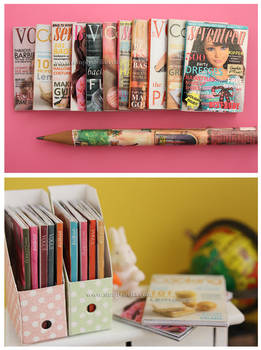 1:6 Magazines - Freebies! by thinkpastel