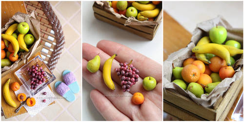 Tutti Frutti - 1:6 assorted fruits by thinkpastel