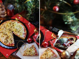 Christmas Movie Night - 1:6 Gift Set (full set) by thinkpastel
