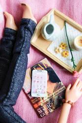 Miniature Smartphone + DIY Video Tutorial! by thinkpastel
