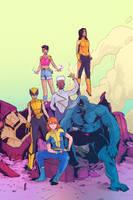 X-men by StefanTosheff