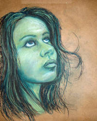 Pastel Portrait Study II by CameronCN