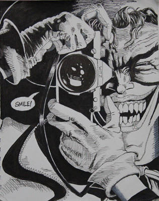 FanArt of Batman The Killing Joke by purpletad
